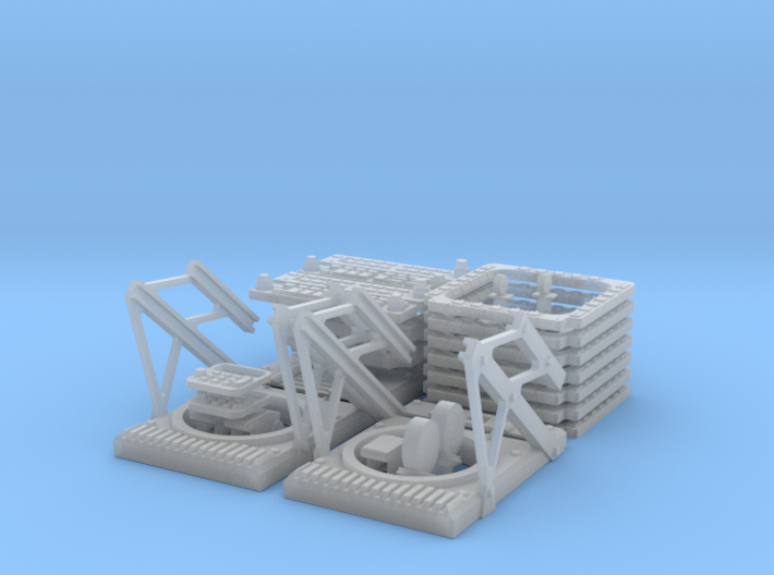 SG HAwk Main Pannels - HUD Frame 3d printed