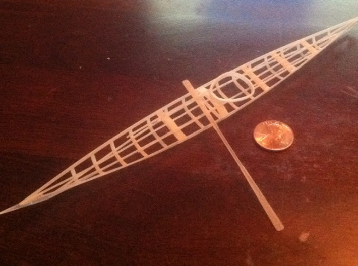 GreenlandTraditionalORNAMENT 3d printed (paddle sold separately)