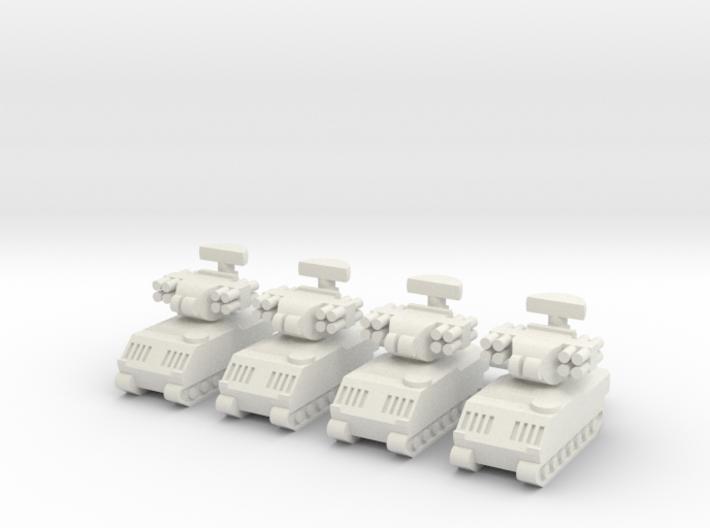 1/285 M2 Bradley ADATS (x4) 3d printed