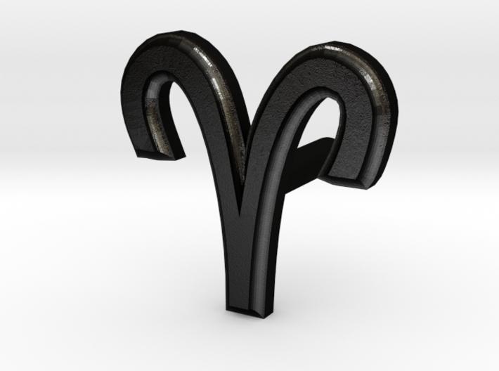 Aries Earring 3d printed