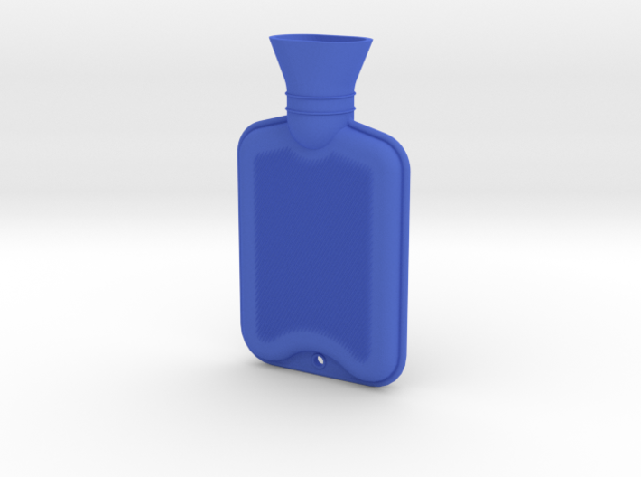 Hot Water Bottle Regular  3d printed