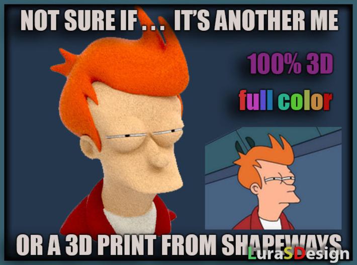 Not Sure Fry - Meme 3d printed