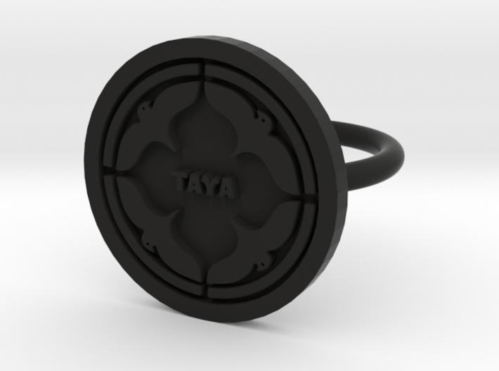 Logo Ring 3d printed