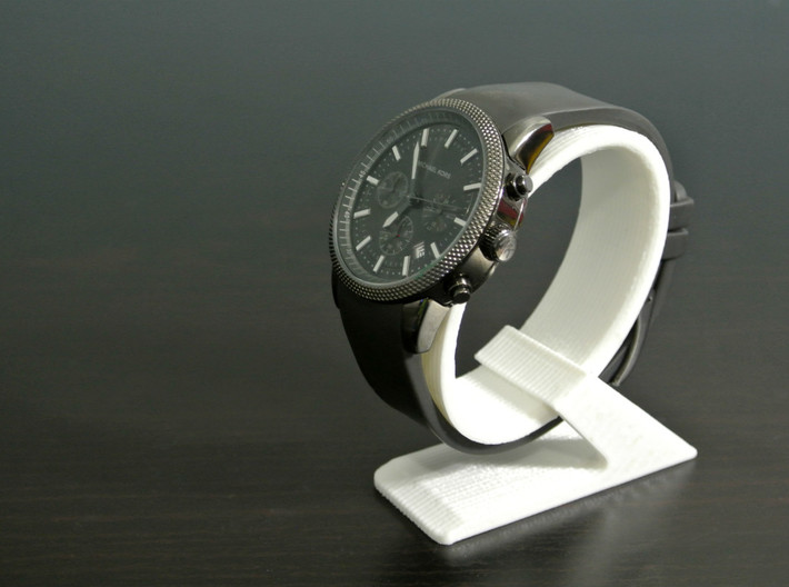 Wrist-watch Stand 3d printed