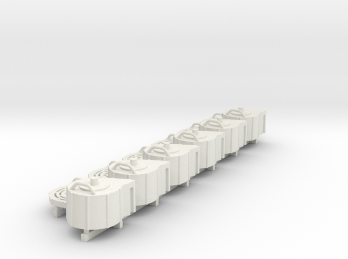 1:18 scale 20mm Cannon Magazine Spares 3d printed