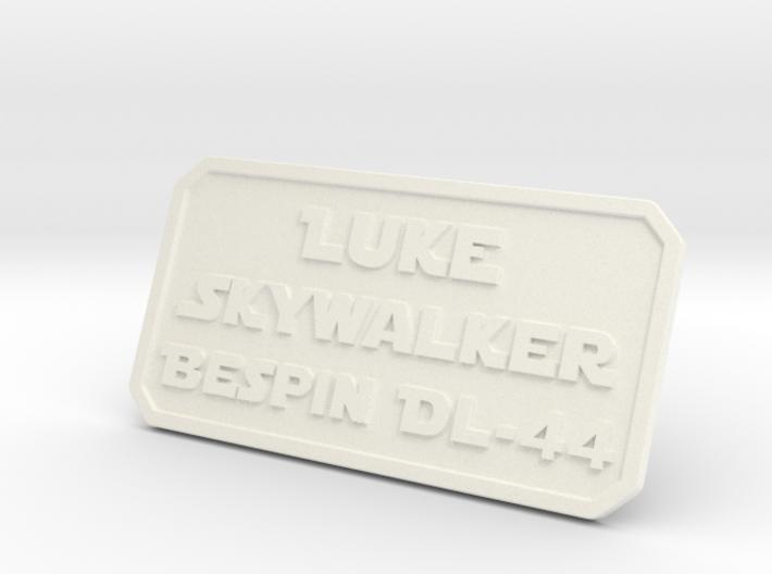 Luke ESB Plate 3d printed