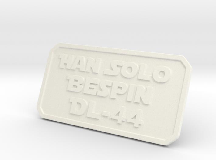 Han ESB Plate 3d printed