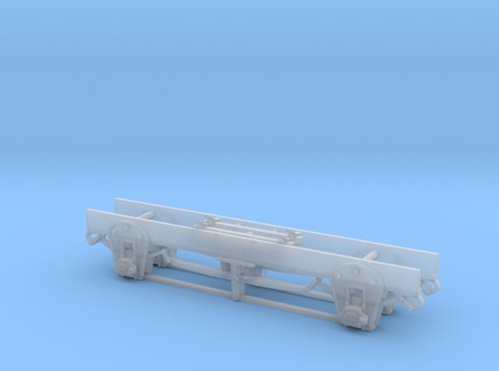 DSP&P Waycar Running Gear Sn3 3d printed