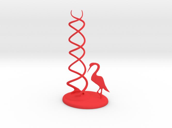 CheekyChi - Chopstick Holder (crane) small 3d printed