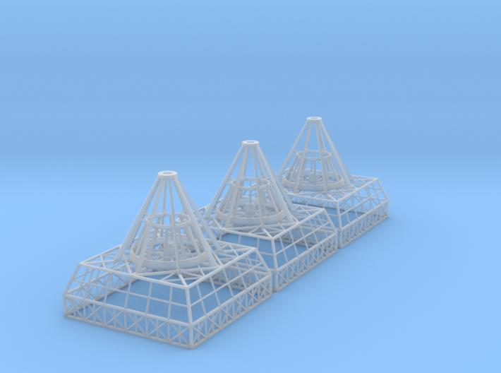 Antenna Bases X 3 V0.1 3d printed