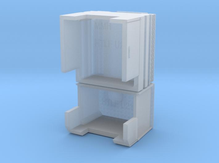HTLF Unimog U 2150 Ohne Boden 3d printed