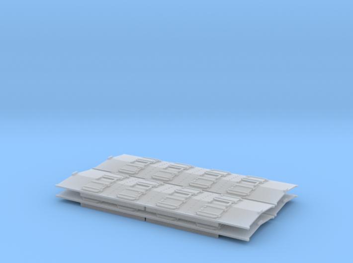 Phosphate Roof for P-9 hopper HO 4 Pack 3d printed