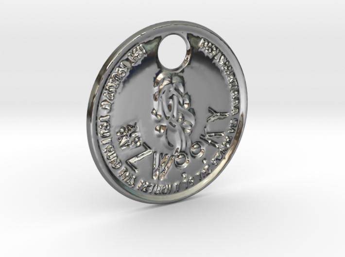 ZWOOKY Style 205 - pendant zodiac - Virgo 3d printed