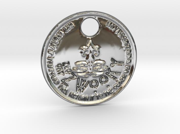 ZWOOKY Style 206 - pendant zodiac - Libra 3d printed