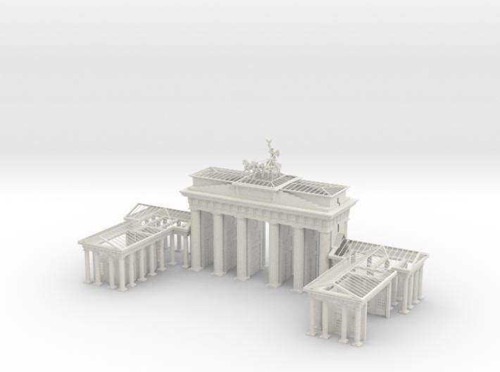 1-144 Brandenburg Gate Ruins 3d printed