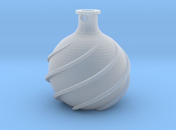 Love Bottle Pendant (Healh Potion) 3d printed