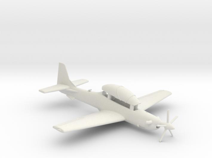 003A Super Tucano in Flight 1/144 3d printed