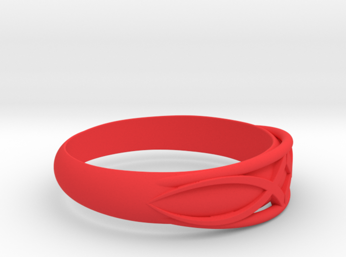 Size 9 L Ring 3d printed