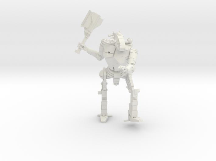 3 inch BattleMech Hatchetman Combat 3d printed