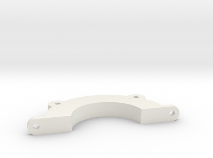 Half-circle mounting bracket for tuning inlet for 3d printed