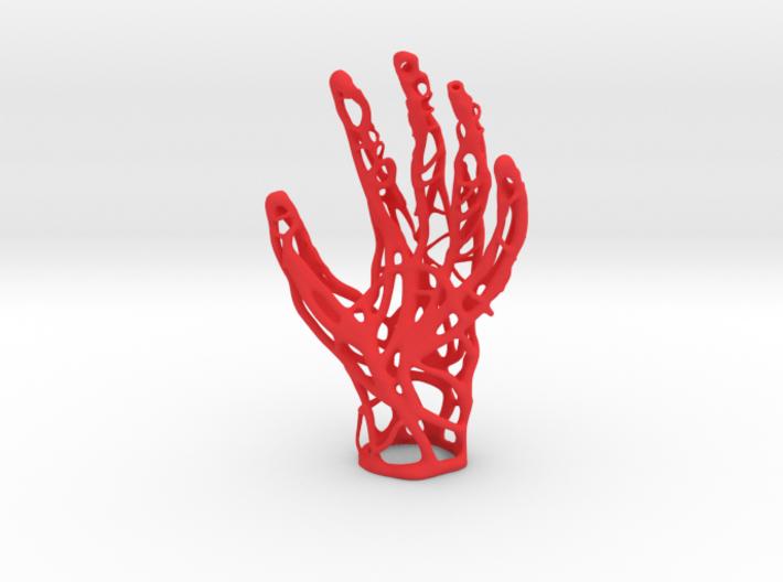 Fiber hand 3d printed