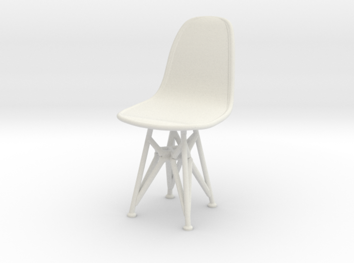 1-25 Eames DSR Chair 3d printed