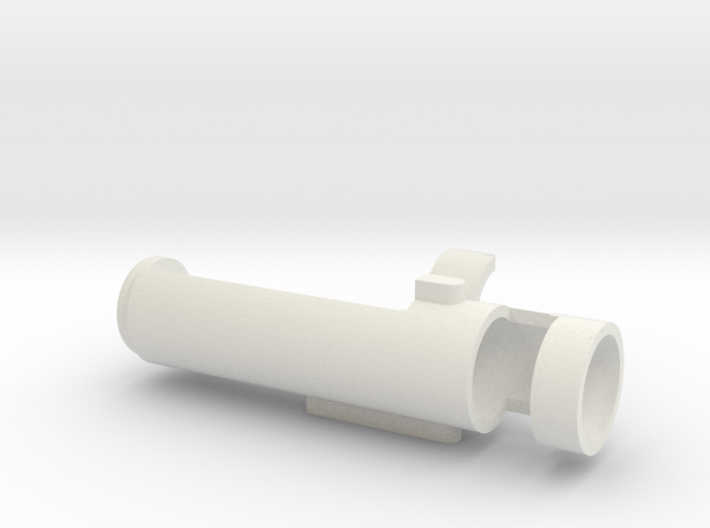 Specialty Round Hop Unit (long cut) 3d printed