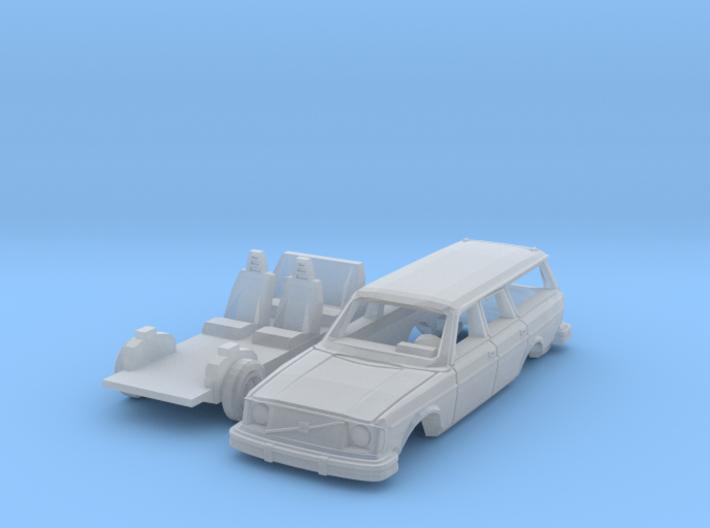 Volvo 245 DL (British N 1:148) 3d printed