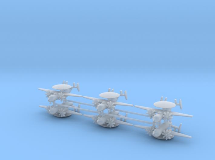 1/700 E-2C Hawkeye (x6) 3d printed