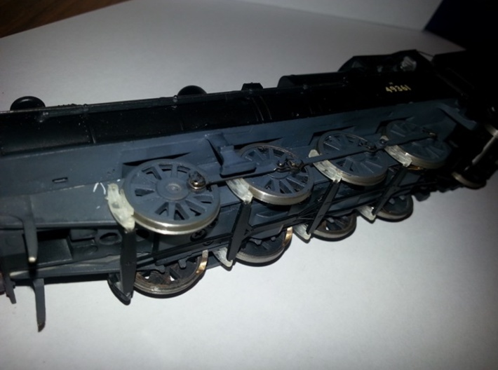 Replacement brake gear for LNWR/lms/br g2 0-8-0  3d printed