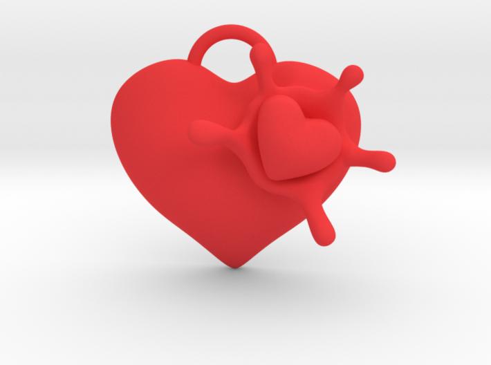 LoveSplash 3d printed