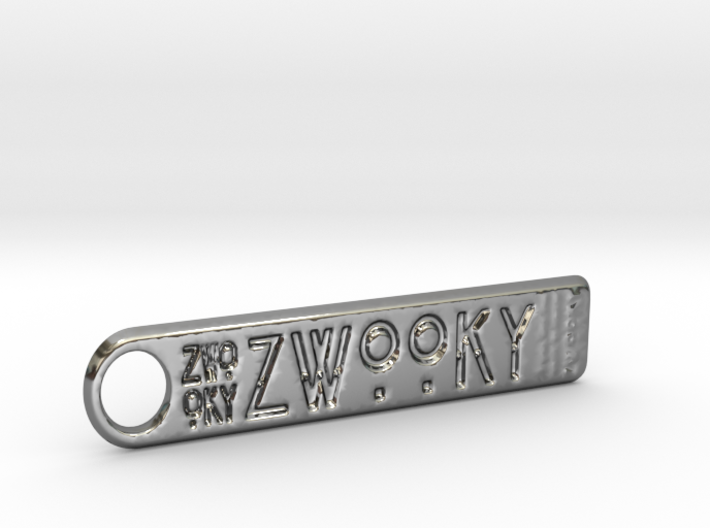 ZWOOKY Style 132 Sample - keychain  3d printed