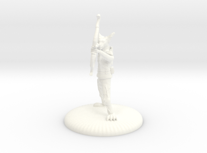 D&D Wilden Seeker with Bow and Arrow Mini 3d printed