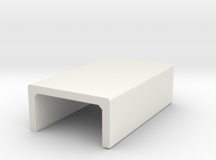 H0 Box Culvert Half Height (size 2) 3d printed