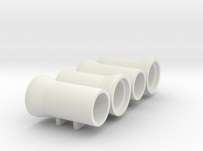 """N Sewer pipe """"ø1000mm"""" 4pc 3d printed"""