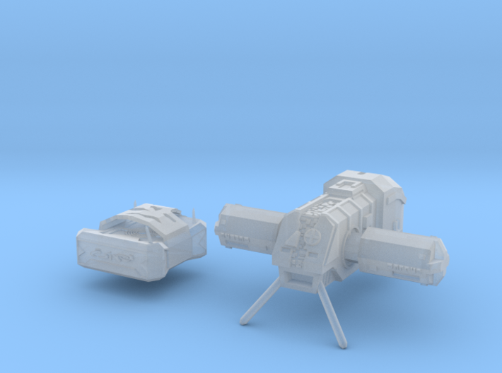 "Somtaaw ""Clee-San"" Science vessel 3d printed"