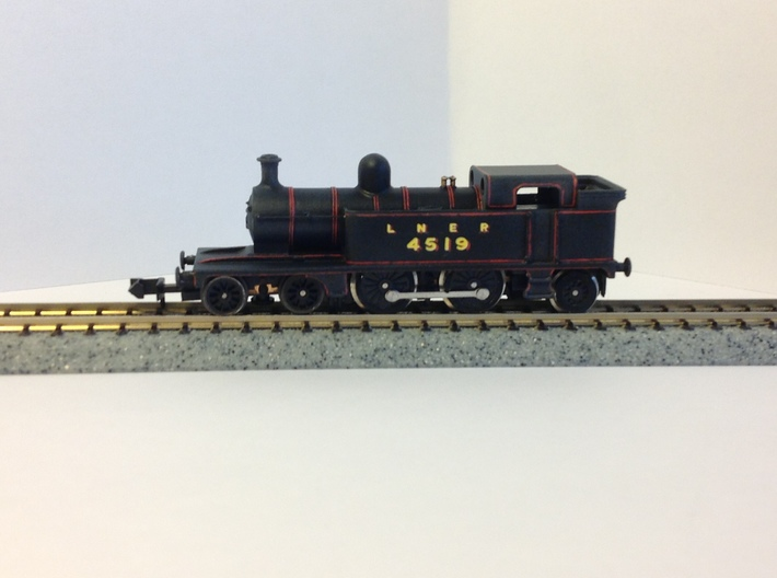 LNER C12 Body 3d printed LNER C12 on modified Dapol 14xx chassis