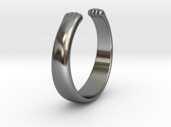 Paw Ring 3d printed