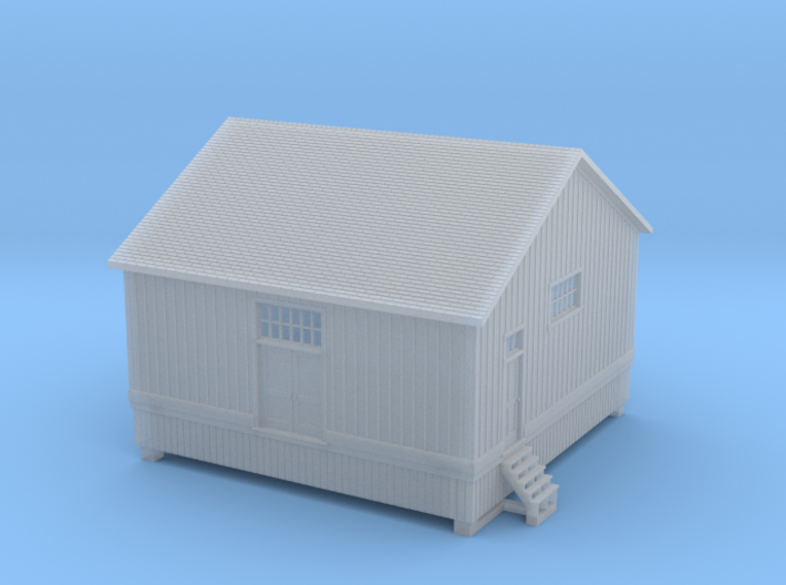 CNR Washago Freight Shed (N-scale, 1:160) 3d printed
