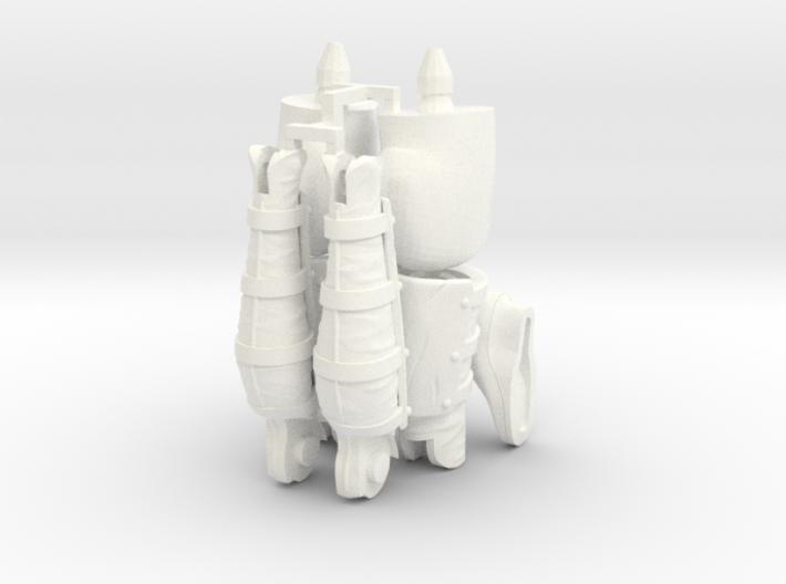 FB01-Legs-10s  6inch 3d printed
