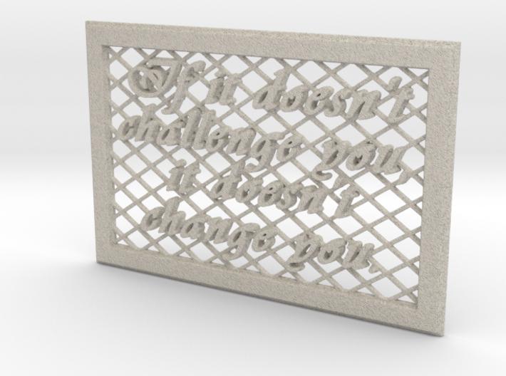 Output3 (sandstone) 3d printed