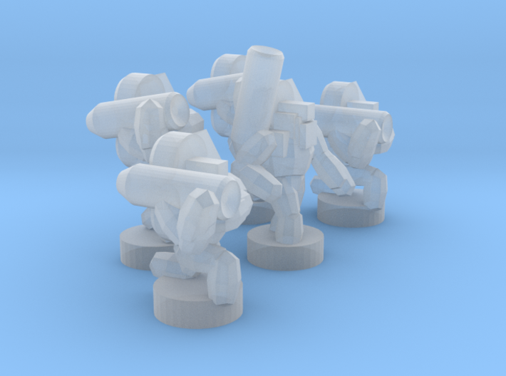 UWN - Infanty Squad [Luancher] 3d printed
