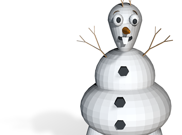 Olaf From Frozen(1) 3d printed