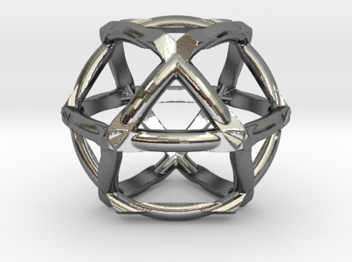 COSMIC VECTOR (pendant) 3d printed