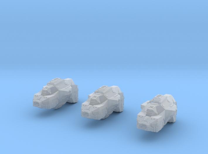 "Somtaaw ""Dervish"" Multi-Beam Frigates (3) 3d printed"