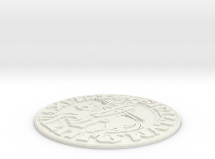 Knights Templar Seal 3d printed
