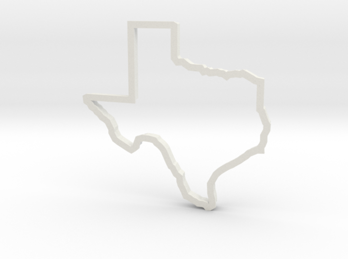 Texas Cookie Cutter 3d printed