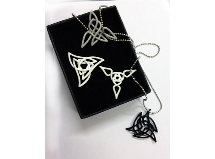 Triquetra Pendant 1 3d printed Check out the other pendants in the collection