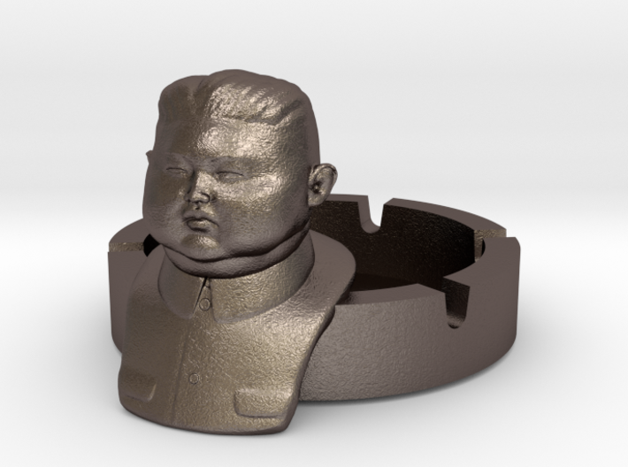 Kim Jong Ashtray Ver. 2 3d printed