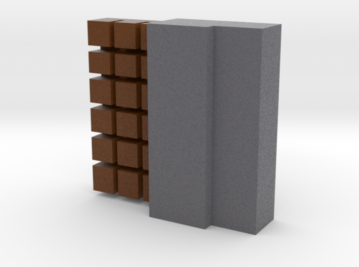 Block Of Chocolate 3d printed